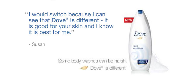 Dove® Body Wash coupon