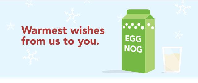'TIL CHRISTMAS EVE: Any brand of eggnog coupon