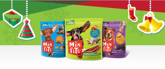 MISFITS™ Dog Treats coupon