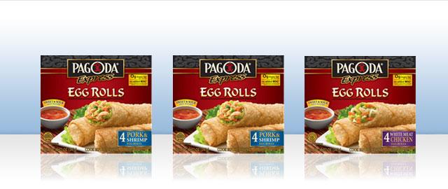 PAGODA EXPRESS® Egg Rolls coupon