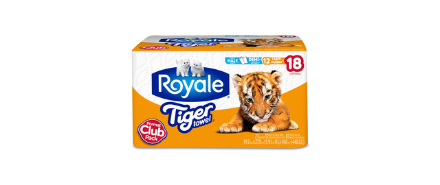 ROYALE® Tiger Towel® Paper Towels coupon