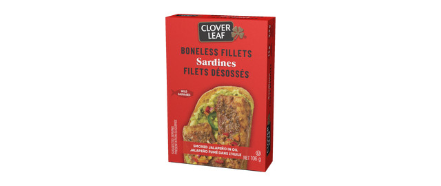 Clover Leaf® Boneless Sardine Fillets Smoked Jalapeño Oil coupon