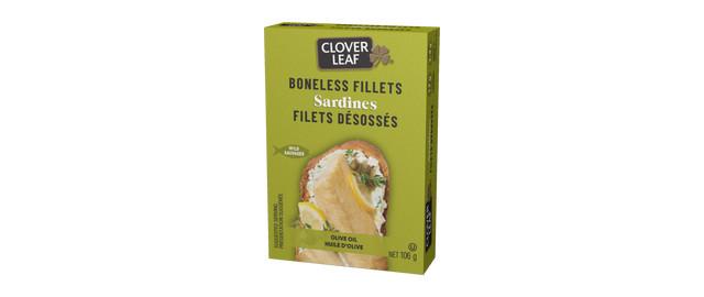 Clover Leaf® Boneless Sardine Fillets in Olive Oil coupon