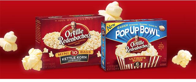 Orville Redenbacher's Gourmet Popping Corn coupon