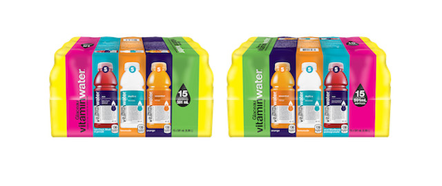 Glaceau vitaminwater® Variety Pack coupon