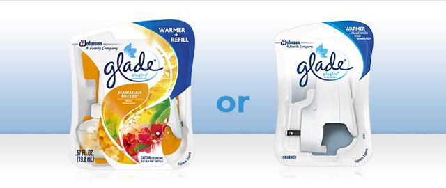 Glade® PlugIns® Scented Oil Starter Kit or Warmer coupon