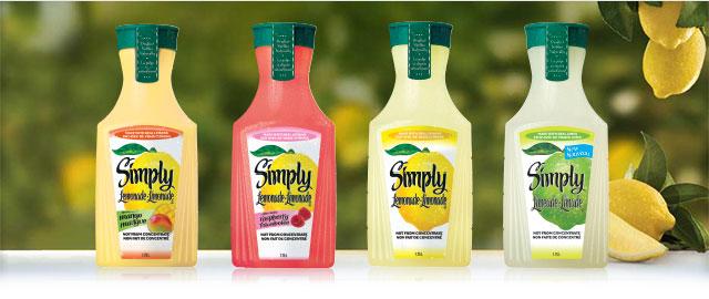 Simply Lemonade® 1.75L coupon