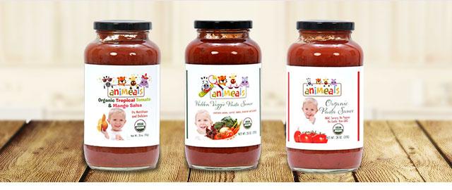 Animeals 4 Kids sauces coupon