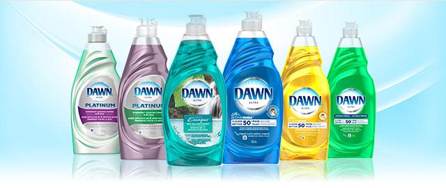 Détergent à vaisselle Dawn coupon