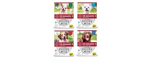 K9 Advantix® II 4 pack coupon