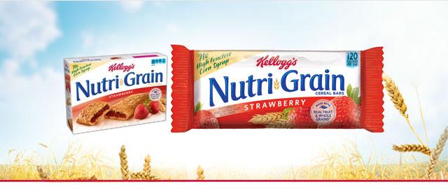 (ORIGINAL) Nutri-Grain* Strawberry Cereal Bars coupon