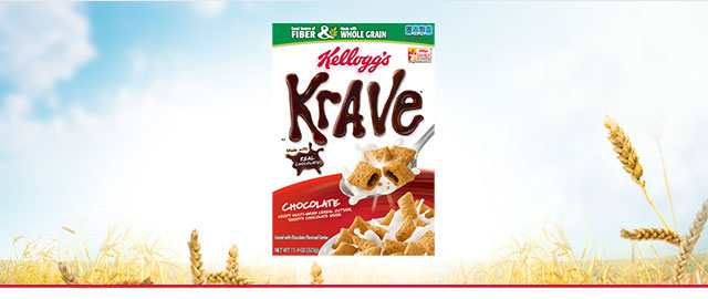 Krave* Chocolate cereal  coupon