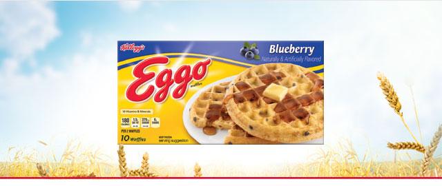 Eggo* Blueberry waffles coupon