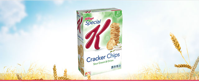 Special K* Sour Cream & Onion Cracker Chips coupon