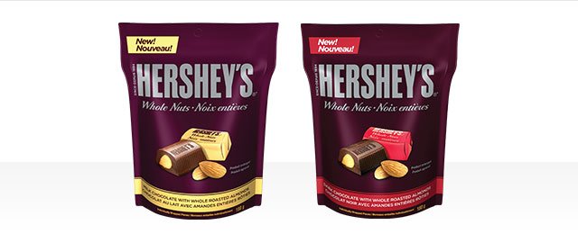 HERSHEY'S Whole Nuts coupon