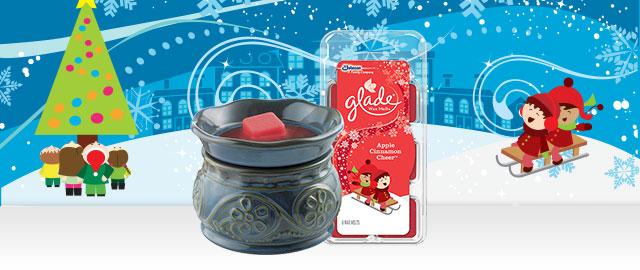 Combo: Glade® Wax Melts Warmer + Wax Melts Refills coupon