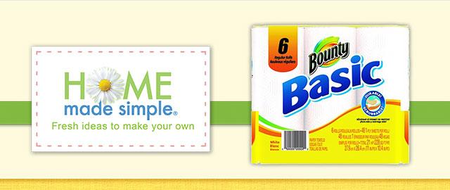 Bounty® Basic  coupon