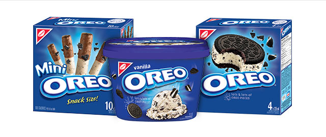 OREO ice cream coupon