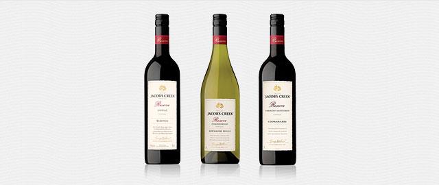 Buy 2: Jacob's Creek® Reserve wines* coupon