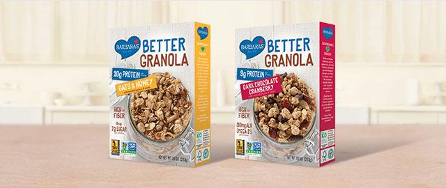 At ShopRite: Barbara's Better Granola coupon