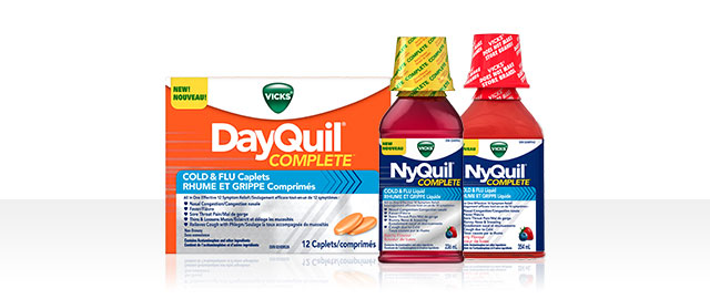 VICKS® DayQuil ™ or NyQuil ™ COMPLETE coupon