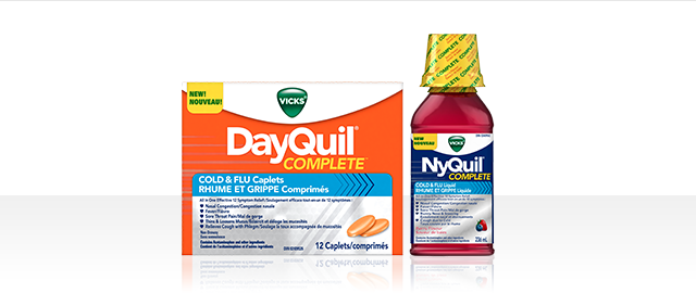 Offer Blitz! VICKS® DayQuil ™ or NyQuil ™ COMPLETE coupon