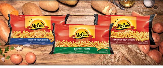 McCain® Fries coupon