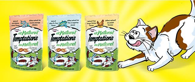 GÂTERIES POUR CHATS ENTIÈREMENT NATURELLES TEMPTATIONS(MD) coupon