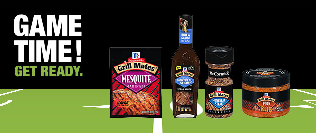 Buy 3: Any McCormick® Grill Mates® products coupon