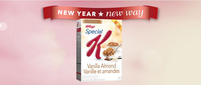 Special K* Vanilla Almond cereal coupon