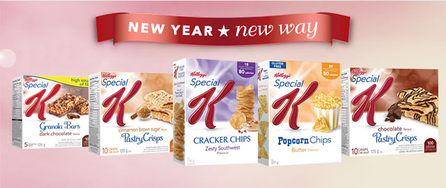 Select Special K* snacks coupon