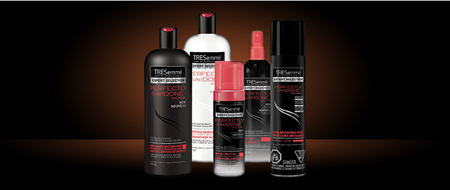 TRESemmé PERFECTLY (UN)DONE Waves™ products coupon
