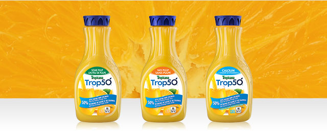 Buy 2: Trop50® Juice Beverage with Vitamins coupon