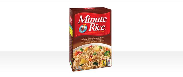 Minute Rice® Premium Whole Grain Brown Rice coupon