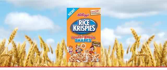 Kellogg's Rice Krispies Multi-Grain Shapes coupon