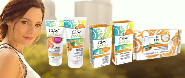 FR - Olay Fresh Effects products coupon