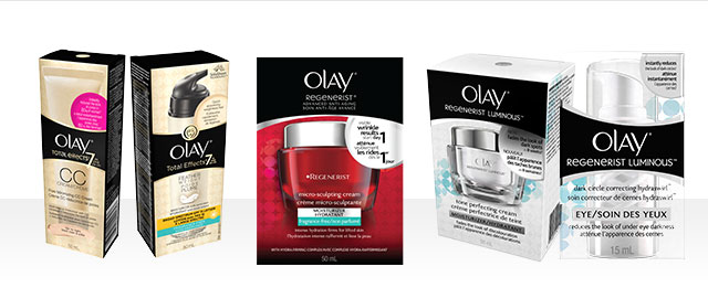 FR - Olay Regenerist & Total Effects products coupon