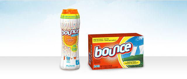 Produits Bounce coupon