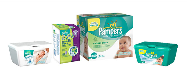 FR - Pampers Wipes coupon