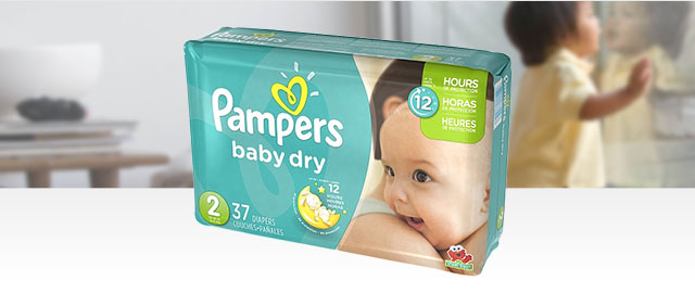 FR - Pampers Baby Dry coupon