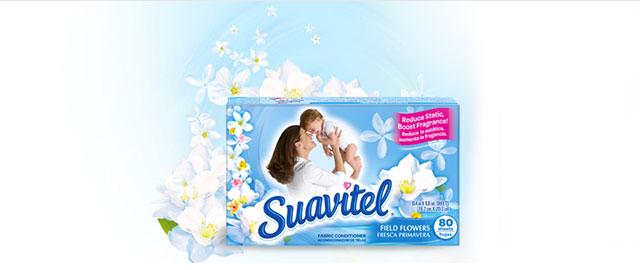 Suavitel® Dryer Sheets coupon