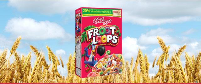 Achetez 2 : Céréales Kellogg's* Froot Loops* coupon
