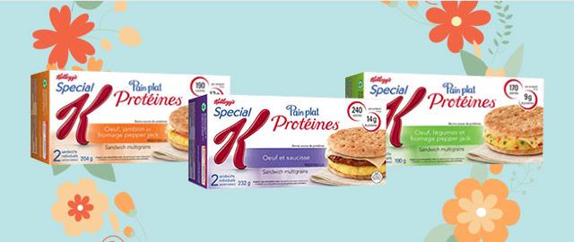 Achetez 2: Pain plat protéines Special K*  coupon