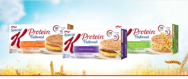 Special K* Flatbread Morning Sandwich coupon