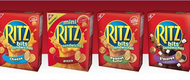 Buy 2: RITZ BITS Sandwiches coupon