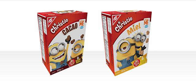 Achetez 2: Snak Paks Despicable Me de M. Christie coupon