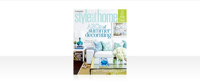 Style at Home Édition de Kiosque coupon
