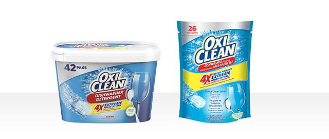 Détergent pour lave-vaisselle OxiClean (MC) coupon