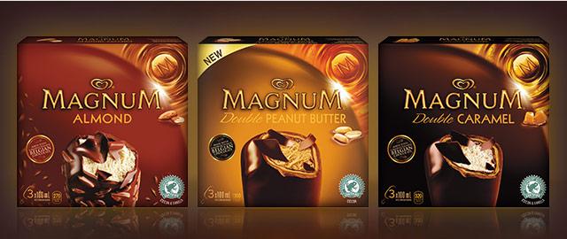 Magnum® ice cream bars coupon