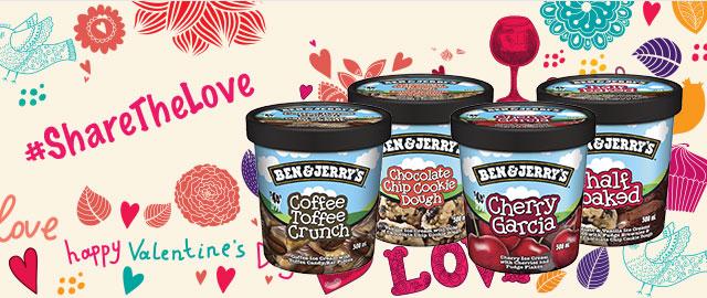 Ben & Jerry's ice cream coupon